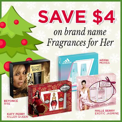 Walmart Coupon for Holiday Fragrance Sets