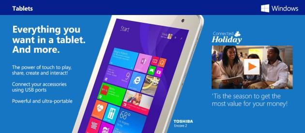 Windows Tablets at Walmart