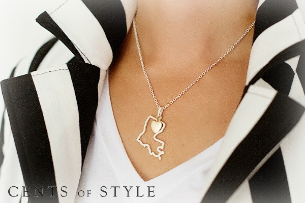 $11.95 State Necklaces (was $24.95) FREE SHIPPING