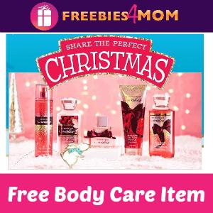 Free Bath & Body Works Body Care Item