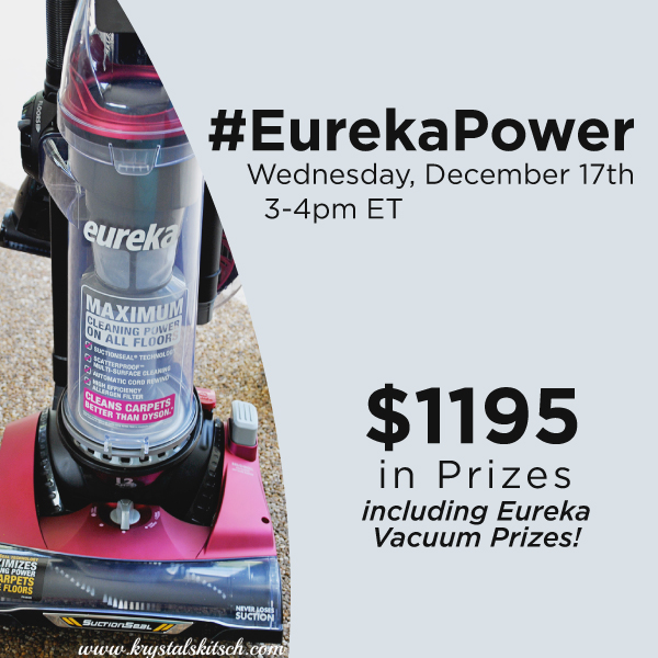 #EurekaPower-Twitter-Party-12-17-3pmEST,#TwitterParty,#ad,sweepstakes on Twitter