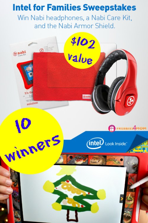 Intel for Families Giveaway ~ Discover Nabi DreamTab for Kids