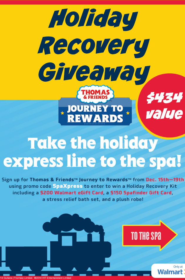 Holiday Recovery Giveaway ~ Thomas & Friends Rewards