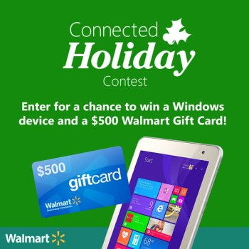 Microsoft Connected Holiday Sweepstakes