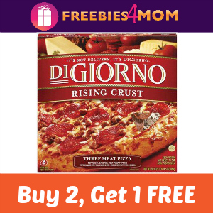 Coupon: Buy 2 Get 1 Free DiGiorno Pizza