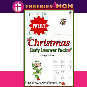 Free Christmas Learning Pack for Preschoolers