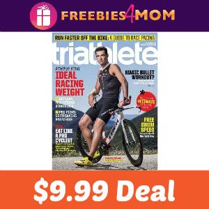 Magazine Deal: Triathlete $9.99