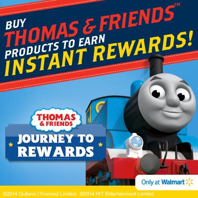 Thomas & Friends Journey to Rewards at Walmart