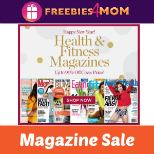Health & Fitness Magazines Up to 90% Off