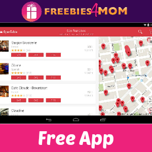 Free ITunes Android App OpenTable - Open table app for android
