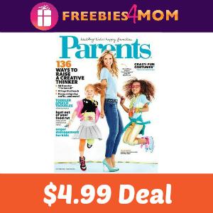 Magazine Deal: Parents $4.99