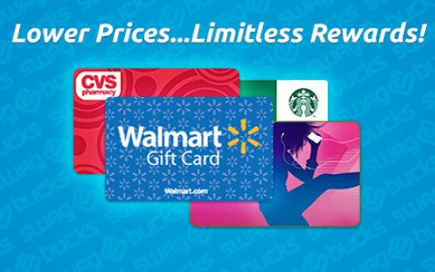 Free Gift Cards from Swagbucks are easier to earn!