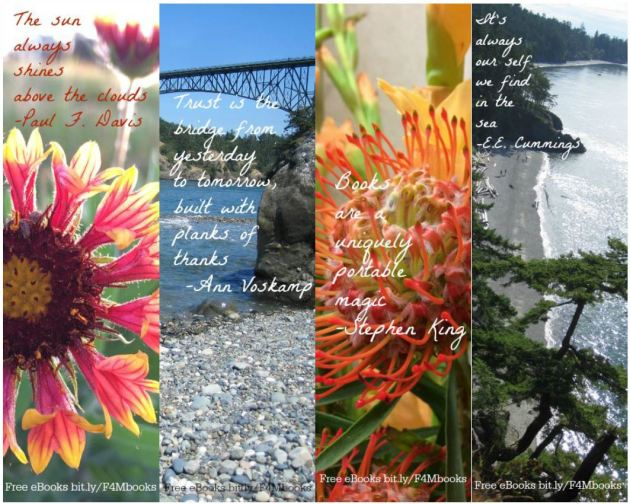 Free Printable Bookmarks with Inspirational Quotes