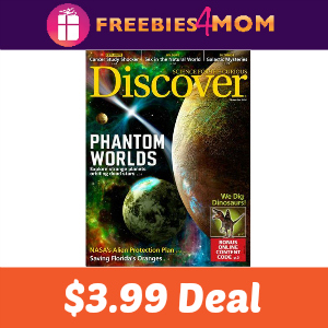 Magazine Deal: Discover $3.99