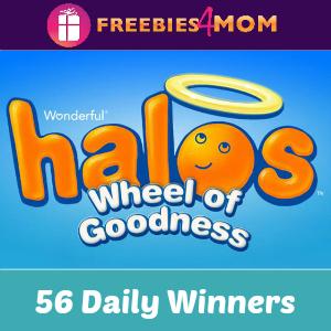 Sweeps Wonderful Halos Wheel of Goodness