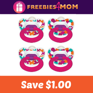 Coupon: Save $1.00 on Nuk Pacifier