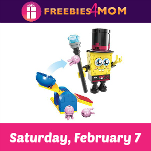 Free SpongeBob Mega Bloks Event Saturday