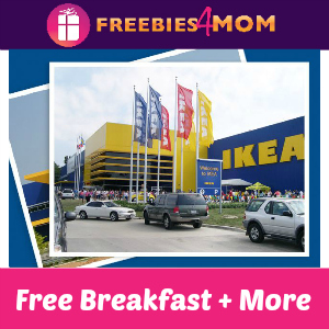 Free Breakfast (& More!) Saturday at IKEA