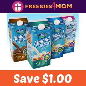 Coupon: Save $1.00 on Blue Diamond Almondmilk