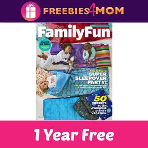 Free Family Fun Magazine (1 year)