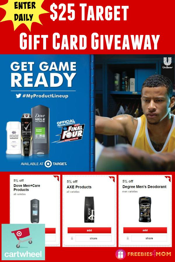 $25 Target Gift Card Giveaway ~ Get Game Ready at Target