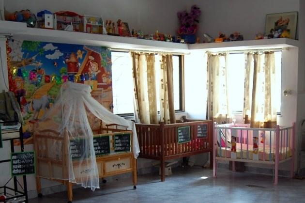 Senhankur Center Accomodation facility for babies