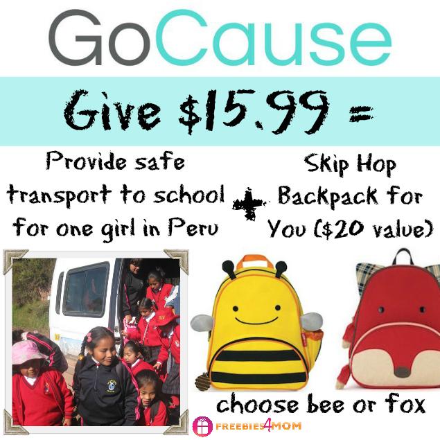 Give $15.99, Get Skip Hop Backpack ($20 value)