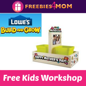 Free Mother's Day Planter Lowe's Kids Clinic