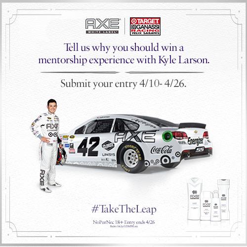 AXE Racing Contest #TakeTheLeap