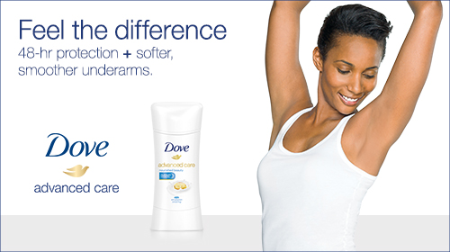 Dove Advanced Care Deodorant at Walmart
