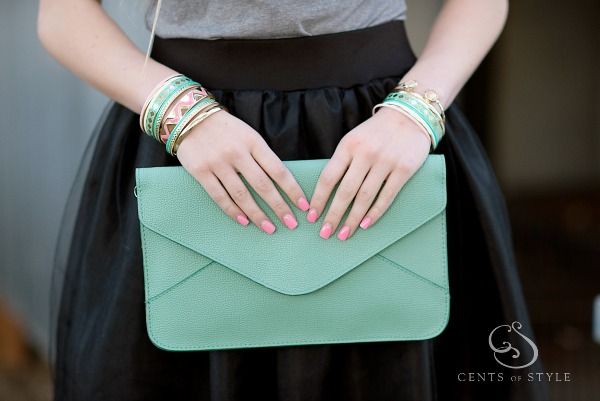 $12.95 Envelope Clutch