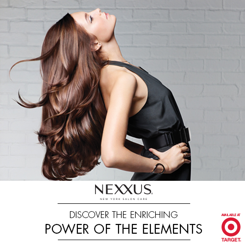 NEXXUS New York Salon Care hair products at Target