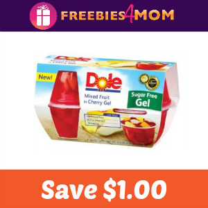 Coupon: Save $1.00 off Dole Fruit in Gel