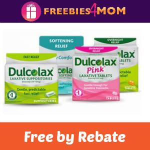 Rebate: Free Dulcolax at Walmart