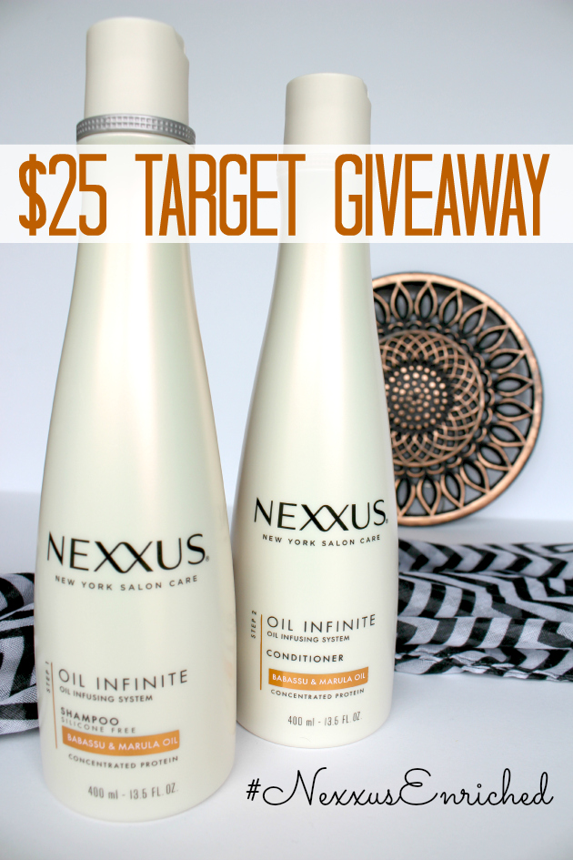$25 Target Gift Card Giveaway ~ Discover #NexxusEnriched