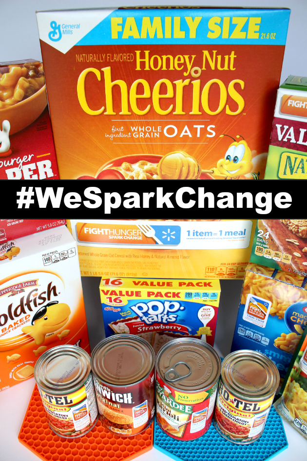 Fight Hunger Spark Change ~ How You Can Support Feeding America#WeSparkChange