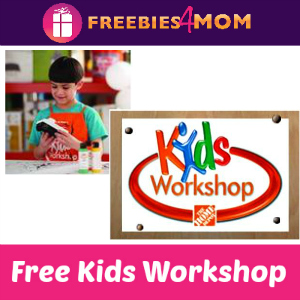 Free Kids Workshop at Home Depot July 4