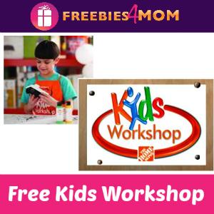Free Kids Workshop at Home Depot June 6