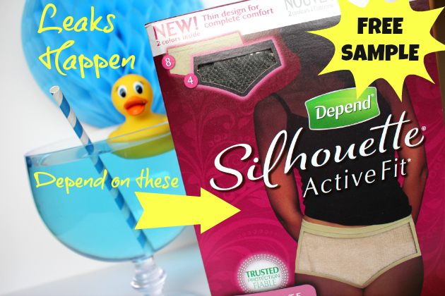 Free Sample Depend Silhouette Active Fit from Underwareness