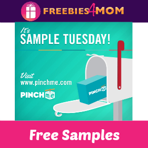 PinchMe Free Sample Tuesday
