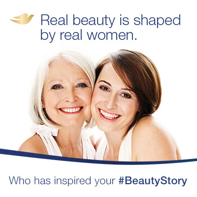 Real beauty is shaped by real women. Dove #BeautyStory