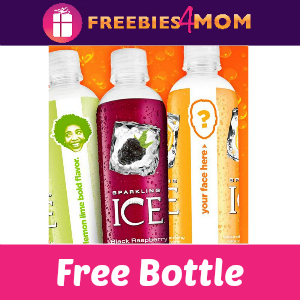 Free Bottle of Sparkling ICE
