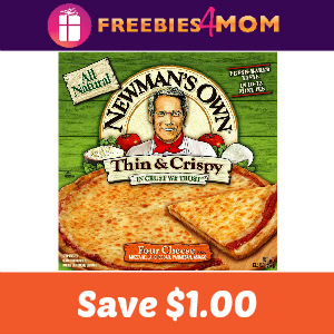 Coupon: $1.00 off Newman's Own Frozen Pizza