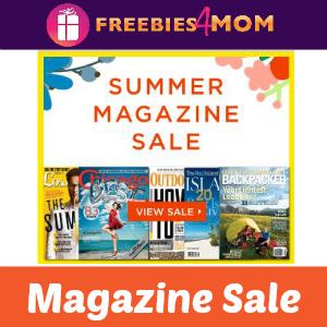 Summer Magazine Sale