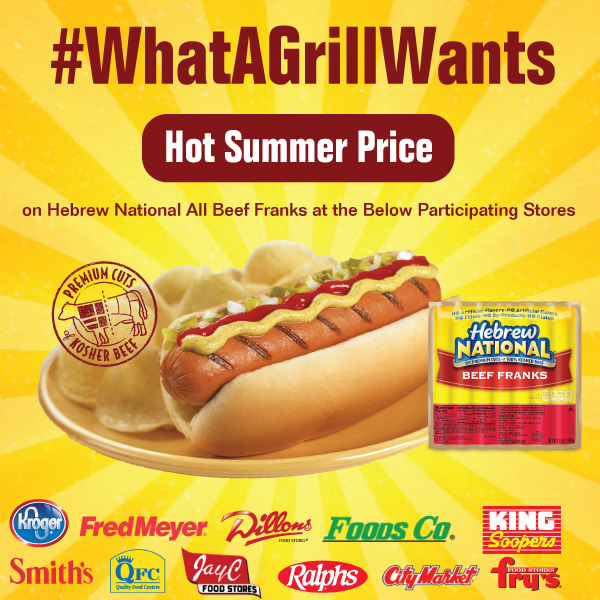 Save $2.00 on Hebrew National Beef Franks