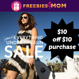 $10 off $10 Purchase at Lane Bryant