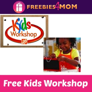 Free Kids Workshop at Home Depot August 1