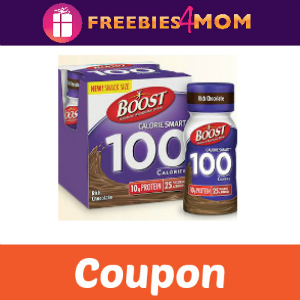 Coupon: Free 4 pack Boost Calorie Smart