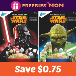 Coupon: $0.75 off Star Wars Cereal