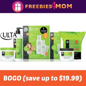ULTA Printable Coupon: BOGO Dr. Lin Skincare (save up to $19.99)